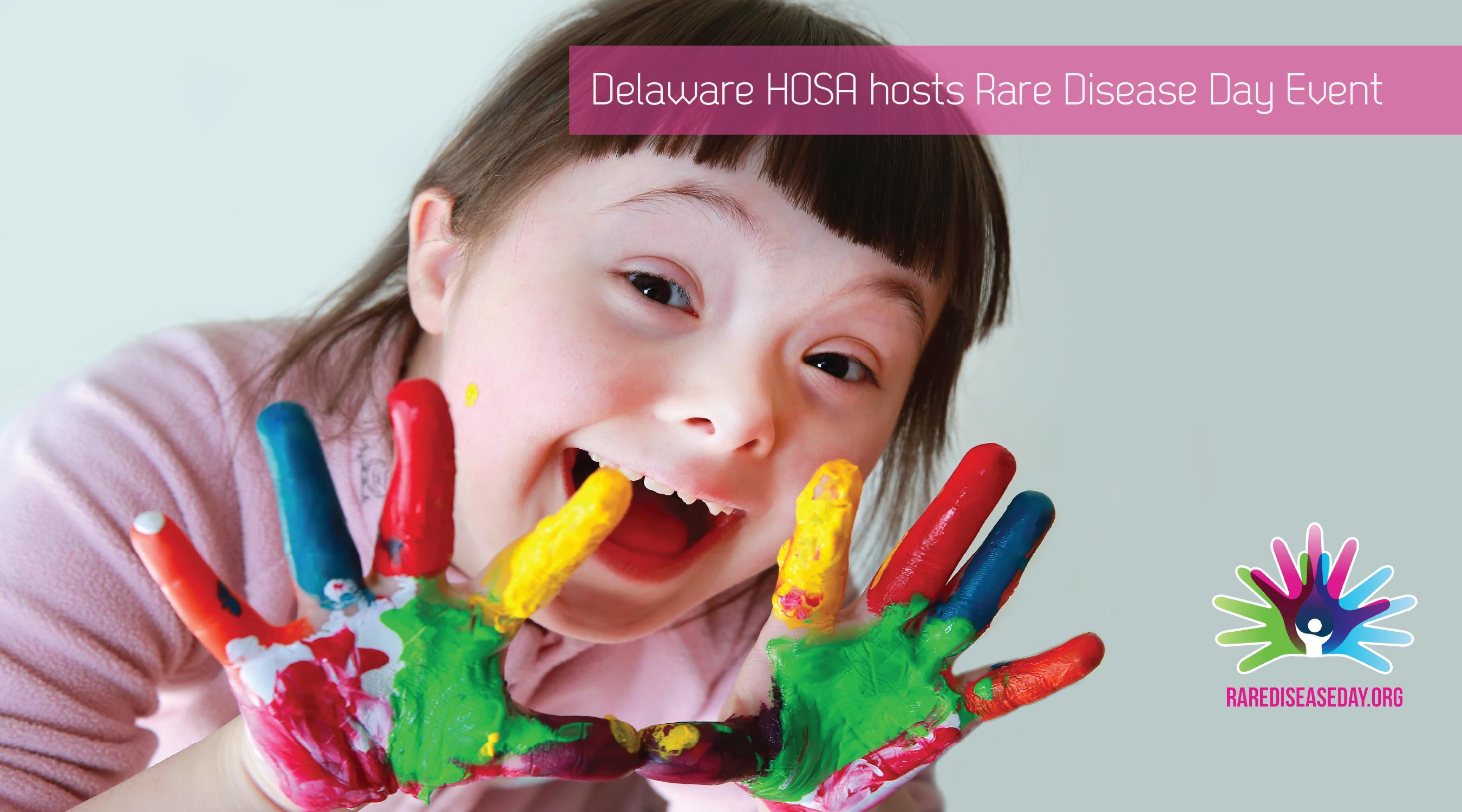 Delaware HOSA Hosts Rare Disease Day Event