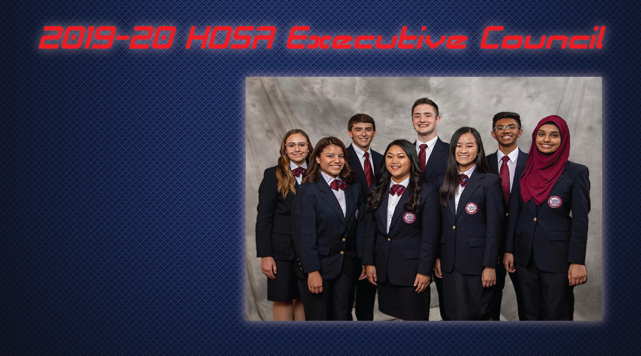 2019-20 HOSA Executive Council