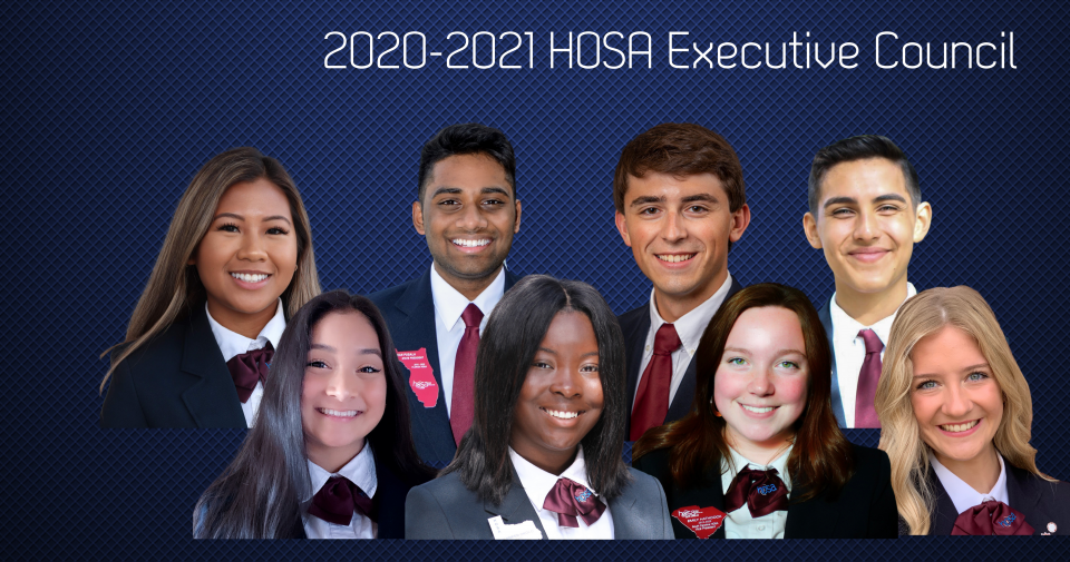 2020-2021 HOSA Executive Council
