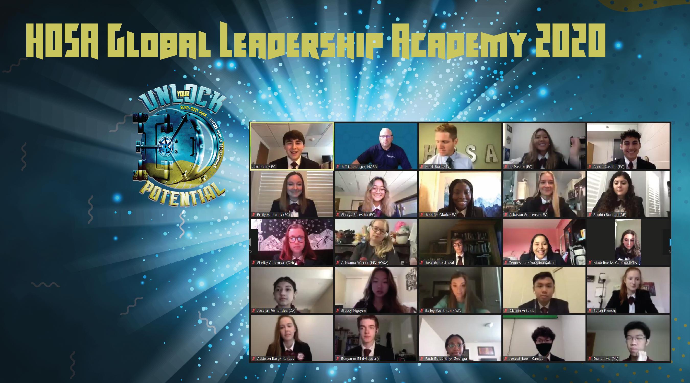 HOSA Global Leadership Academy!