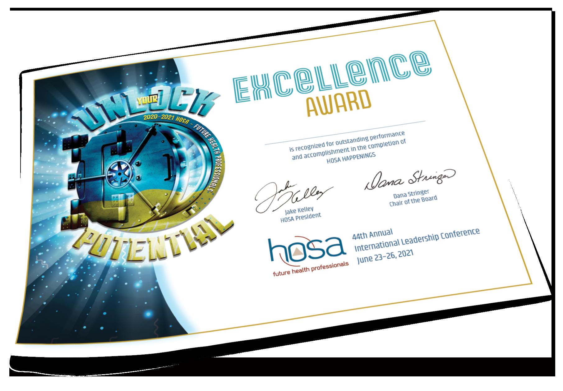 2021 Virtual International Leadership Conference Certificates
